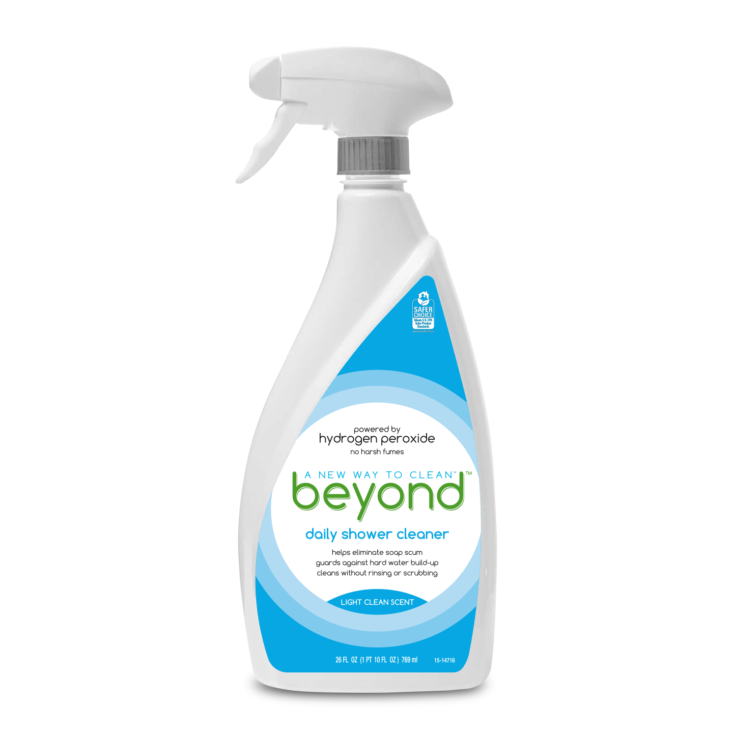 Beyond™ Daily Shower Cleaner spray bottle