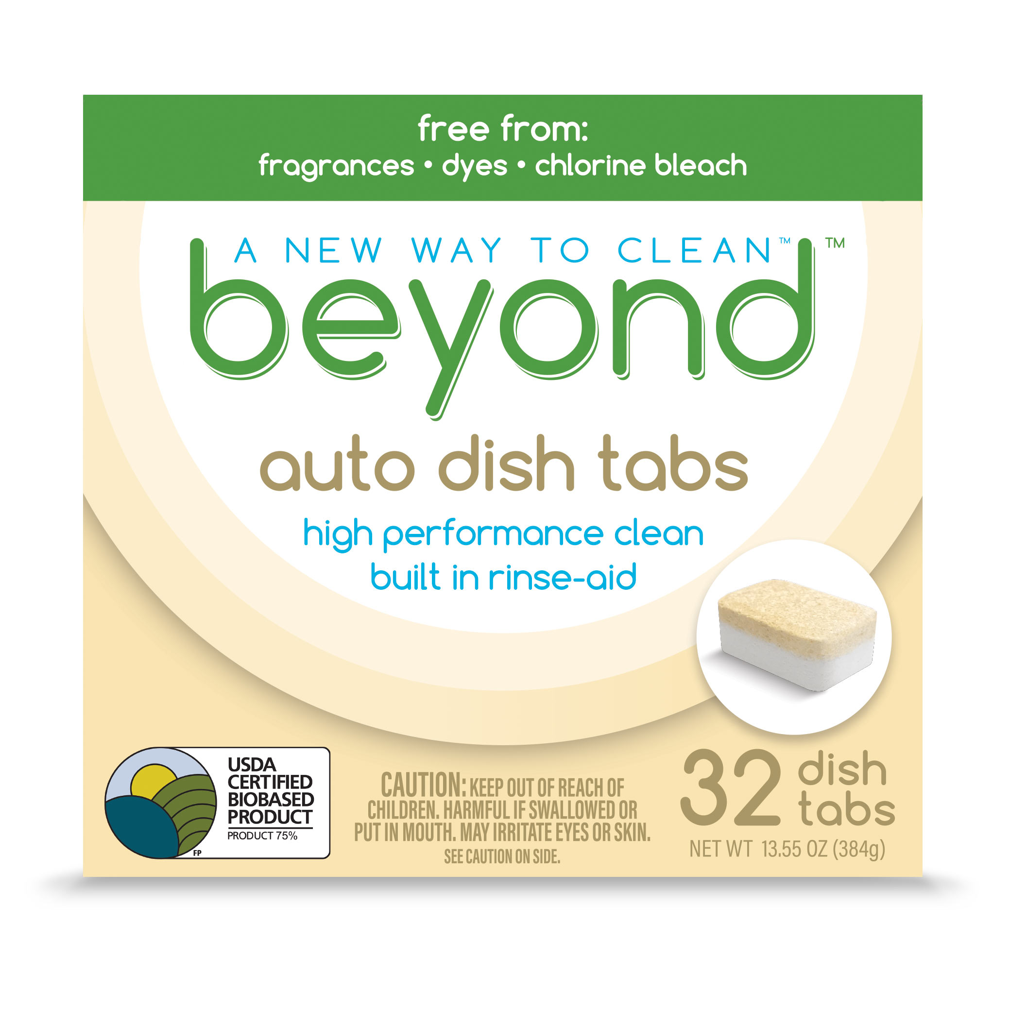Beyond™ Auto Dish Tabs box