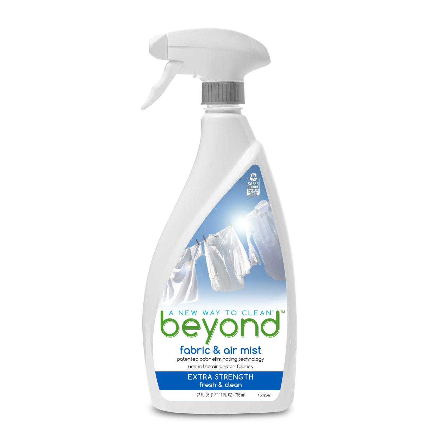 Beyond™ Fabric & Air Mist, Extra Strength spray bottle