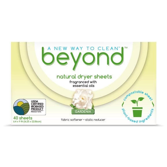 Beyond™ Dryer Sheets box