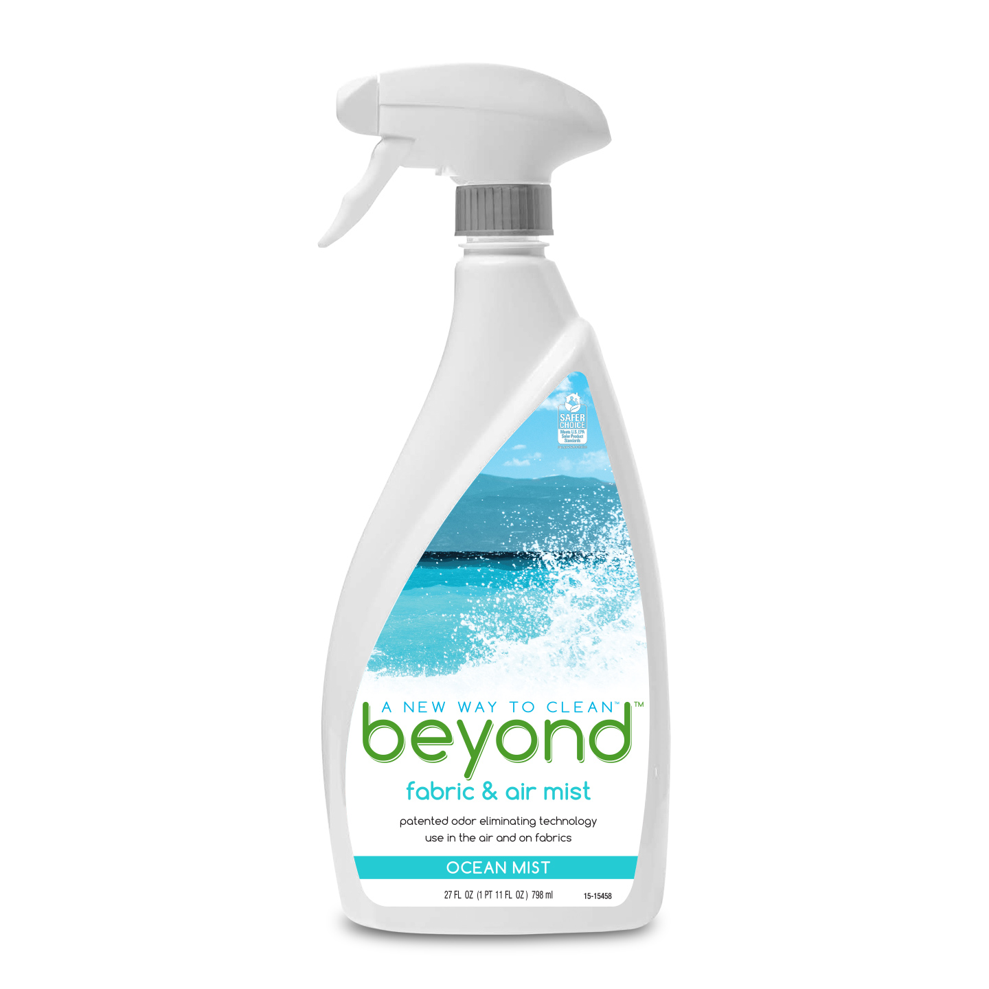 Beyond™ Fabric & Air Mist, Ocean Mist spray bottle