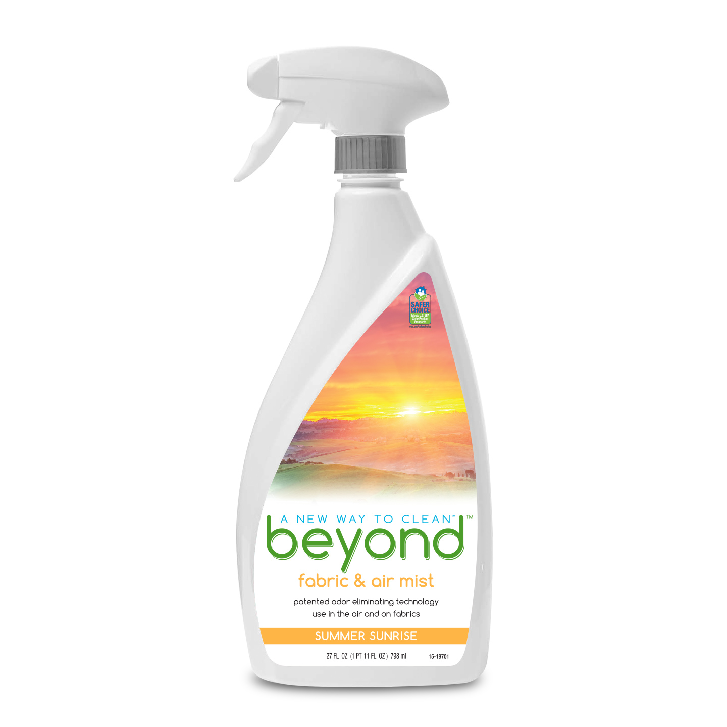 Beyond™ Fabric & Air Mist, Summer Sunrise spray bottle