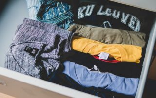 clothing drawers