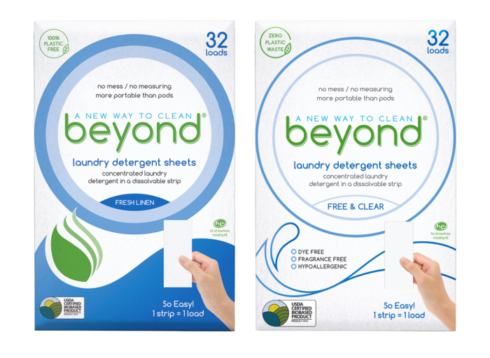 Beyond Laundry Detergent Sheets